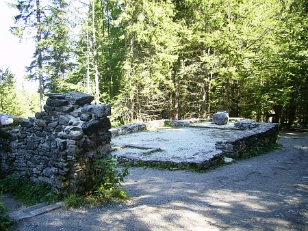 ... Hauswaldská kaple dnes (2011)