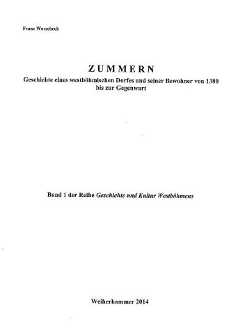 Obálka a titulní list jeho knihy (Schaffer Verlag, Weiherhammer, 2014)