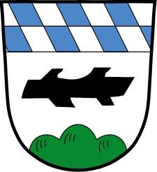 Znak jeho rodného bavorského městyse Kohlberg