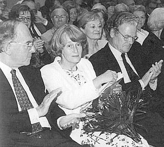 S manželem Levinem von Wulffen na oslavách 50. výročí Adalbert Stifter Verein (prvý zleva Franz Neubauer)
