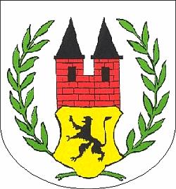 Znak města Gräfenhainichen v německé spolkové zemi Sasko-Anhaltsko