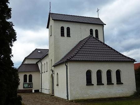 Katolický kostel v Gräfenhainichen