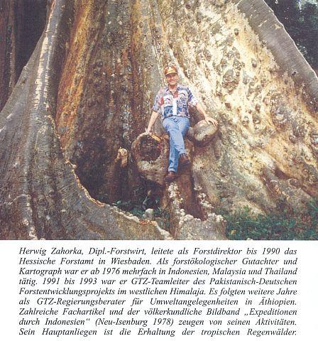 V indonéském deštném pralese 1999 z knihy o něm vnakladatelství Libertas, Sindelfingen