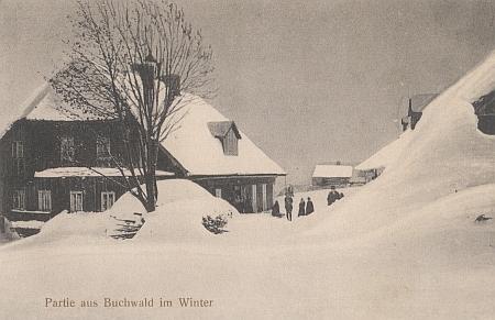 Hostinec pod sněhem