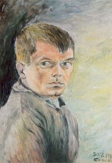 Autoportrét z roku 1961...