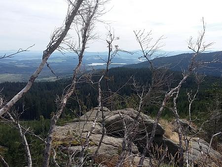 Pohled z Lysé na jihovýchod