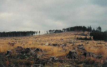 Lysá na snímku z října 2008
