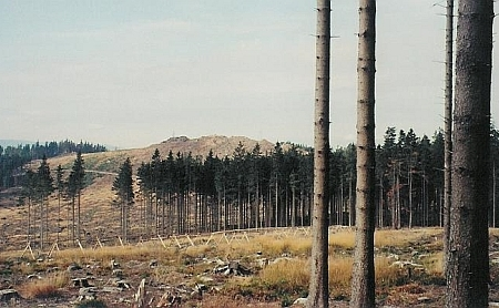Knížecí Stolec z Lysé na snímku z října 2008