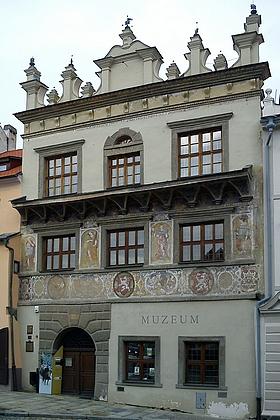 Někdejší studentský domov vPrachaticích, dnes budova Prachatického muzea