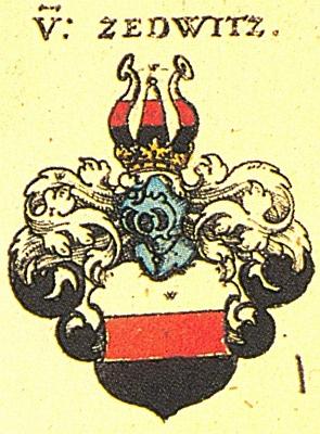 Erb rodu Zedwitz ze Siebmacherovy Wappenbuch (1605)