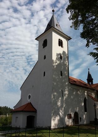 Kostel Umučení sv. Jana Křtitele v Záblatí