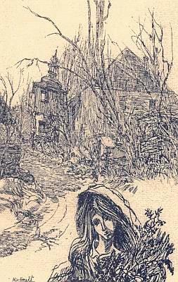 Rodný Vogelsang v grafice Miroslava Houště