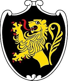Znak bavorského města Bad Tölz, kde je uložena urna s jejím popelem