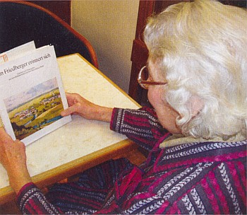 S knihou o Frymburku, kterou textově zpracovala