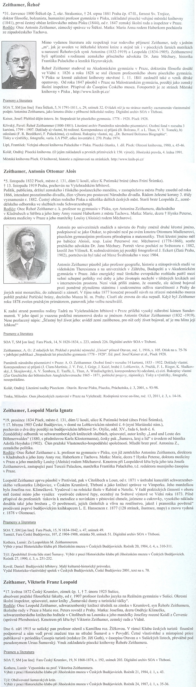 Edice Pramínek zachytila, kupodivu bez podobizny Leopoldovy, profily otce, bratra, jeho i jeho syna sobdivuhodnou rodopisnou důkladností
