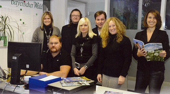 S kolegy z redakce časopisu Schöner Bayerischer Wald