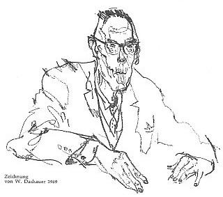 Na kresbě W. Dachauera z roku 1969