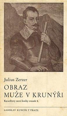 Obálka (1938) českého překladu jeho knihy s podtitulem Albrecht zValdštejna, kterou vydal Ladislav Kuncíř v Praze