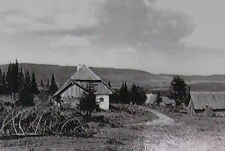 Vzácný snímek někdejší osady Vysoké Lávky