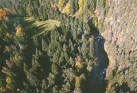 Kaňon Křemelné pod Paštěmi