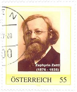Na rakouské poštovní známce