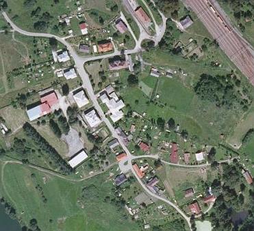 ... a Český Heršlák na leteckých snímcích z let 1952 a 2008
