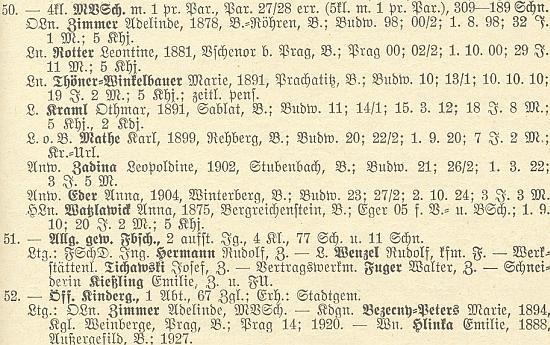 Sestra Adelinde byla ve Volarech nejen ředitelkou dívčí školy, ale vedla i městskou mateřskou školu
