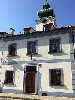 Dům v České ulici, kde zemřel