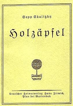Obálka (1927) jedné z knih, které vydal svým nákladem