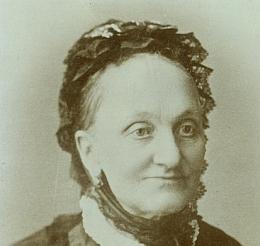Jeho žena Eliška Zöllnerová ve zralém věku