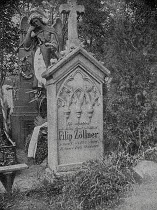 Původní podoba náhrobku