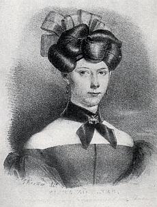 Dcera Elisa, členka Leopoldovského divadla ve Vídni