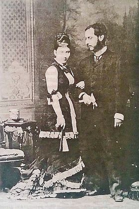 Rodiče na snímku z roku 1878