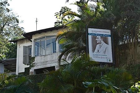 Dům v brazilském Petrópolis, kde žil a zemřel